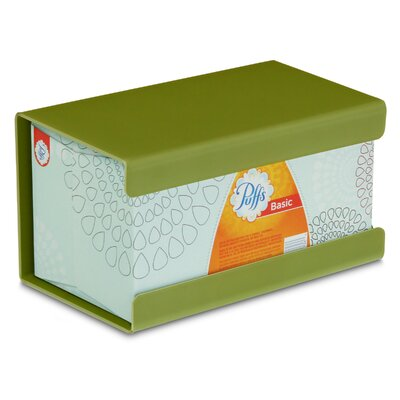 Kleenex Large Box Holder Color: Ivy Leaf Green