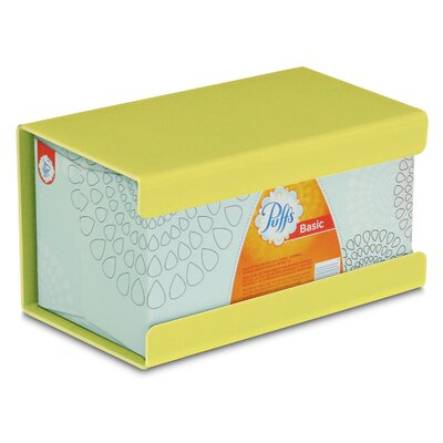 Kleenex Large Box Holder Color: Bright Idea Yellow