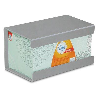 Kleenex Large Box Holder Color: Silver Metallic