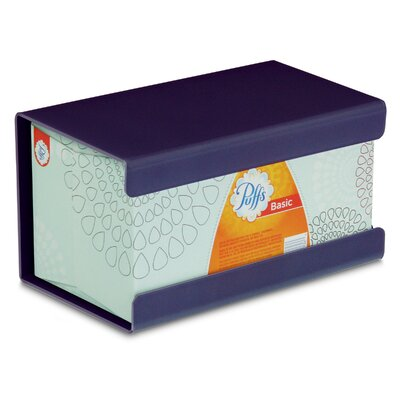 Kleenex Large Box Holder Color: Purple