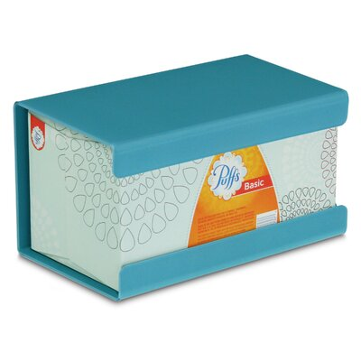 Kleenex Large Box Holder Color: Bahamas Sea Teal