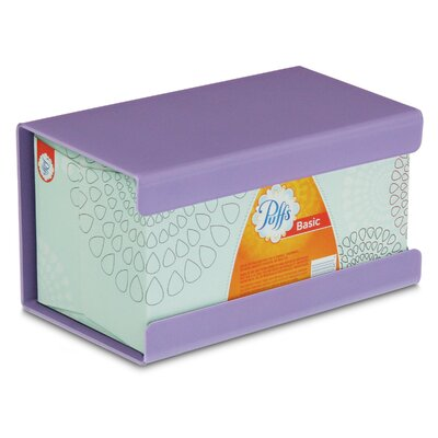Kleenex Large Box Holder Color: Gum Drop Purple