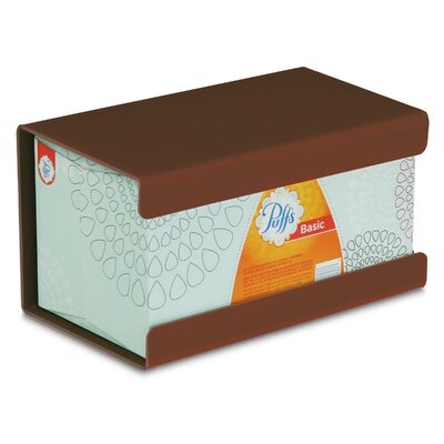 Kleenex Large Box Holder Color: Equestrian Brown