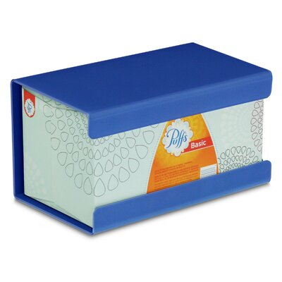 Kleenex Large Box Holder Color: Global Blue