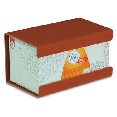 Kleenex Large Box Holder Color: Georgia Clay Red Brown