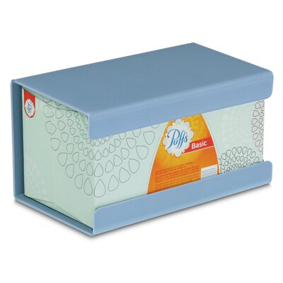 Kleenex Large Box Holder Color: Peekaboo Blue