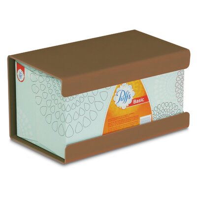 Kleenex Large Box Holder Color: Saddle Tan