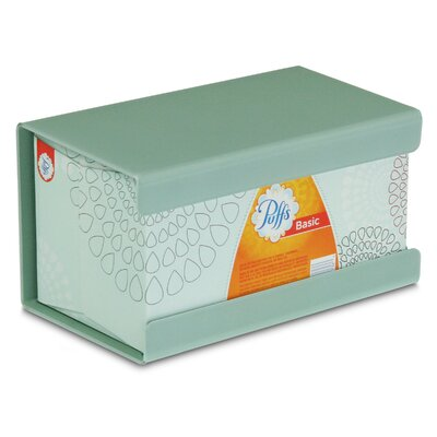 Kleenex Large Box Holder Color: Catalina Mist Green