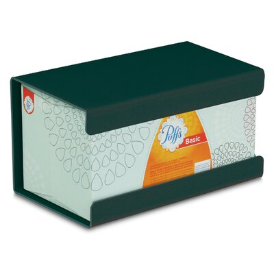Kleenex Large Box Holder Color: Hunter Green