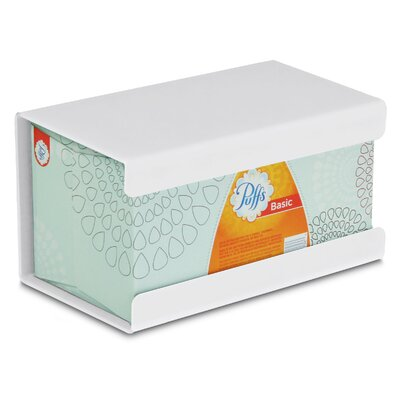 Kleenex Large Box Holder Color: White