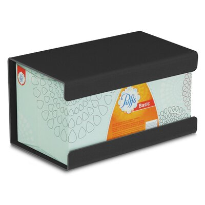 Kleenex Large Box Holder Color: Black