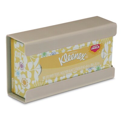 Kleenex Small Box Holder Color: Almond Beige