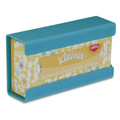 Kleenex Small Box Holder Color: Bahamas Sea Teal