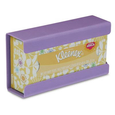 Kleenex Small Box Holder Color: Gum Drop Purple