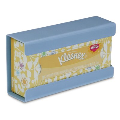 Kleenex Small Box Holder Color: Peekaboo Blue