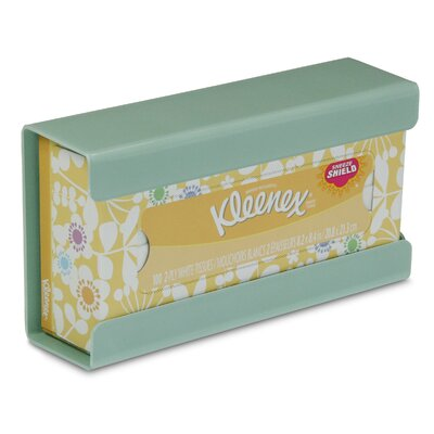 Kleenex Small Box Holder Color: Catalina Mist Green