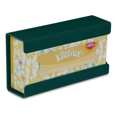 Kleenex Small Box Holder Color: Hunter Green