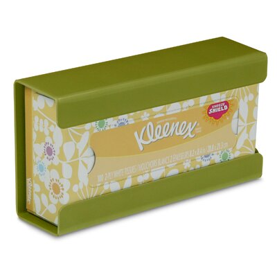 Kleenex Small Box Holder Color: Ivy Leaf Green
