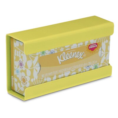 Kleenex Small Box Holder Color: Bright Idea Yellow