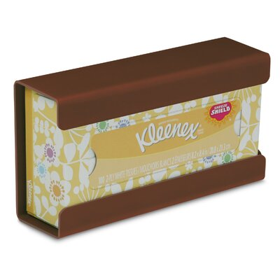 Kleenex Small Box Holder Color: Equestrian Brown