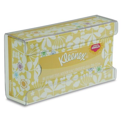 Kleenex Small Box Holder Color: Clear