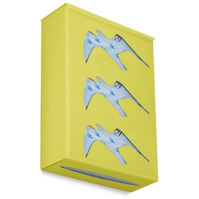 Ultimate Triple Seagull Glove Box Holder Color: Bright Idea Yellow