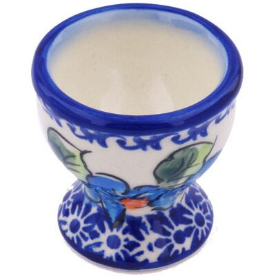 "Polish Pottery 2"" Egg Holder 86D116"