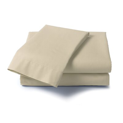 Hard to Fit Bed 400 Thread Count Sheet Set Size: Full, Color: Taupe