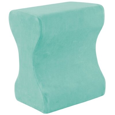 Contour Memory Foam Leg Pillow Color: Green
