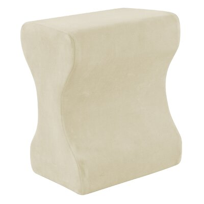 Contour Memory Foam Leg Pillow Color: Ecru