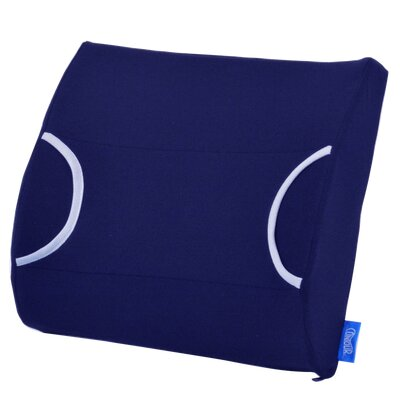 Warm Cool Lumbar Support Color: Navy