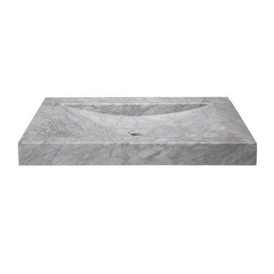 30 Carrara Marble Vanity Top