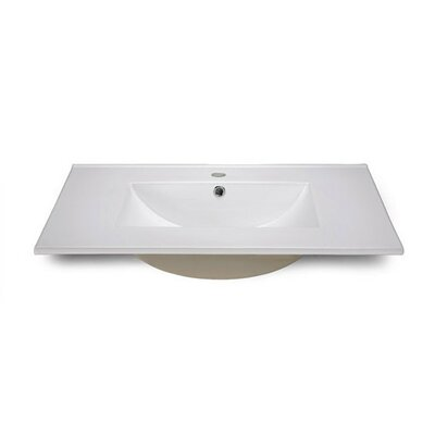 31.9 White With Rectangle Bowl