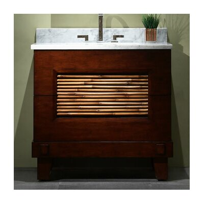 Bambu 36 Bathroom Vanity Base