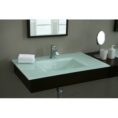 Hollifield 31 Single Bathroom Vanity Top Top Finish: White