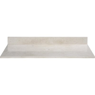 Galala 37 Single Bathroom Vanity Top Length: 37
