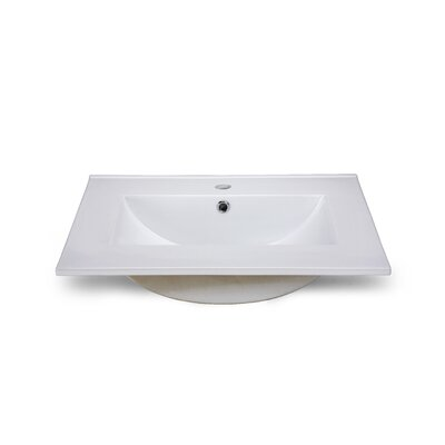Hollifield 25 Single Bathroom Vanity Top
