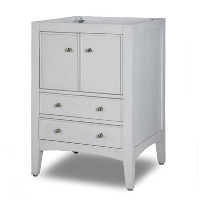 Hollifield Vanity - 24 Base Finish: Whitewash