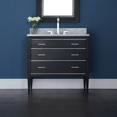 Hollifield 37 Single Bathroom Vanity Cabinet Set