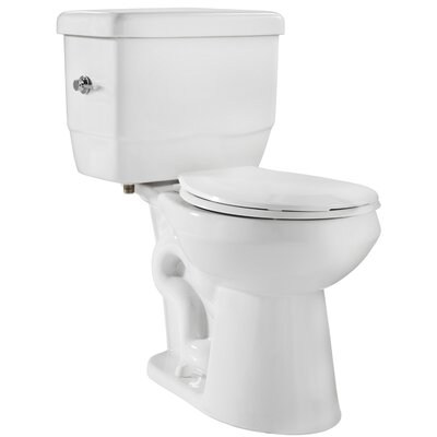 EcoLogic 1.28 GPF Round Two-Piece Toilet