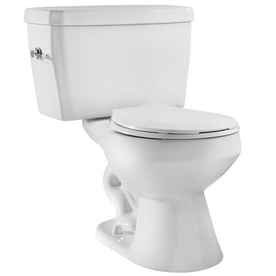 EcoLogic 1.6 GPF Round Two-Piece Toilet