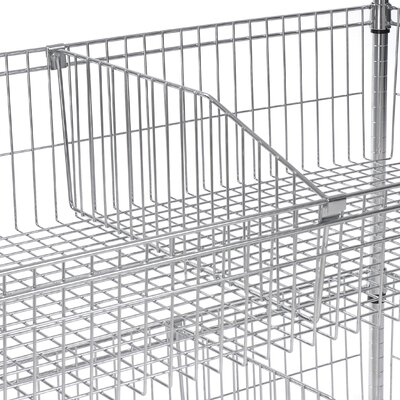 Optional Dividers for Wire Baskets Size: 1