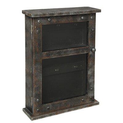 Schlüsselkästchen Cargo | Dekoration > Aufbewahrung und Ordnung > Kästchen | Black | Mdf - Holz - Holzwerkstoff | Ambiente Haus