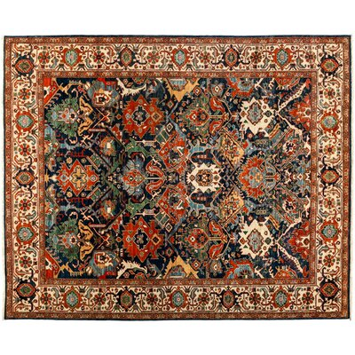 One-of-a-Kind Serapi Hand-Knotted Red Area Rug