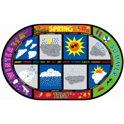 Weather Today Kids Rug Rug Size: 510 x 84