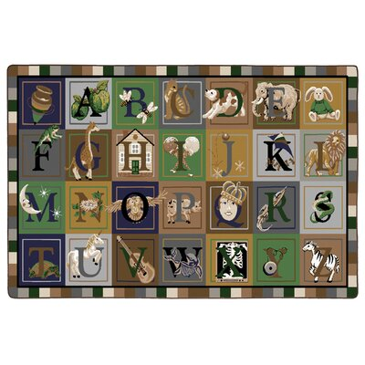 ABC Blocks Kids Rug Rug Size: 510 x 84