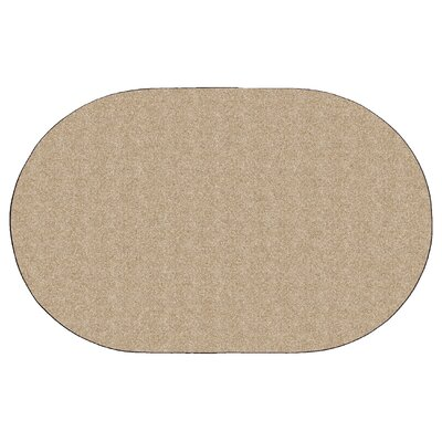 Americolors Almond Area Rug Rug Size: Oval 6 x 9
