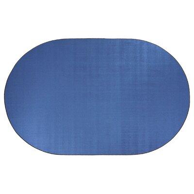 Americolors Blue Bird Area Rug Rug Size: Oval 6 x 9