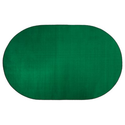 Americolors Clover Green Area Rug Rug Size: Oval 6 x 9