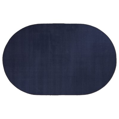 Americolors Navy Area Rug Rug Size: Oval 12 x 15